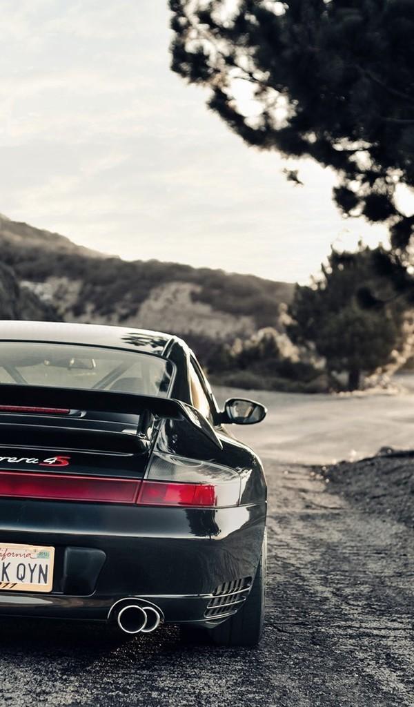 黑色的轿车图片绝色风景壁纸2