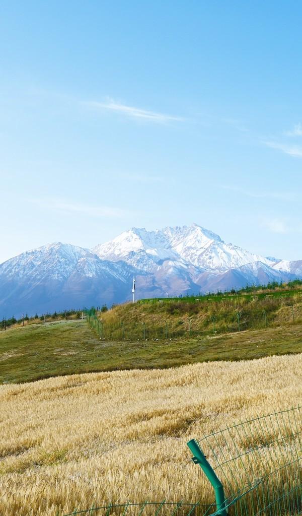 祁连卓尔山风景摄影高清图片壁纸