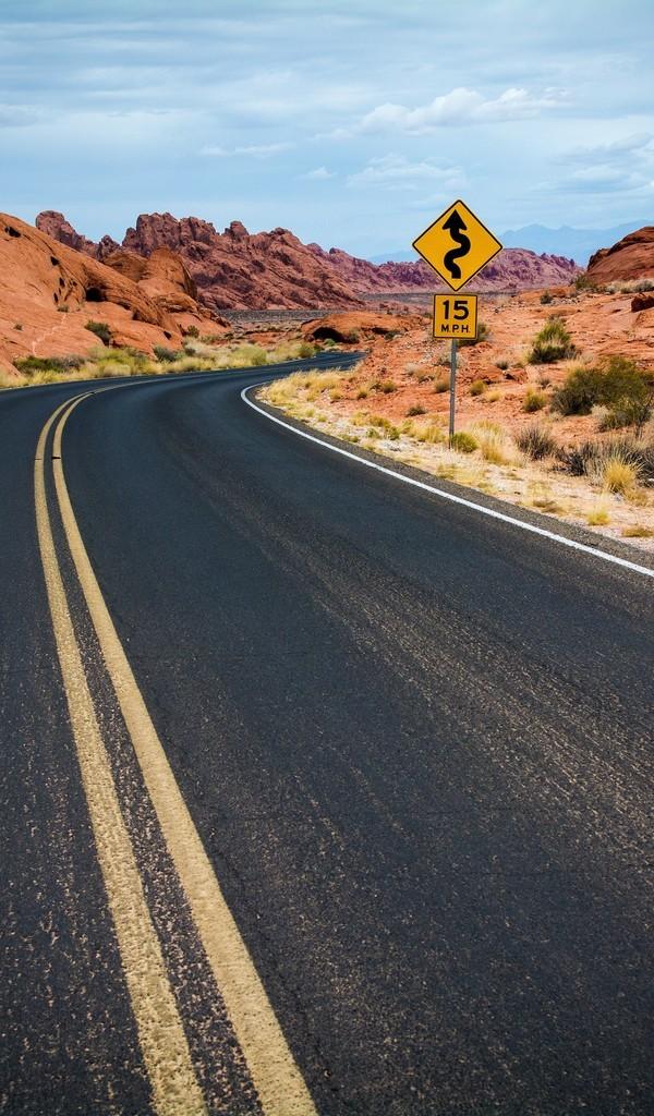 公路风景背景图片壁纸