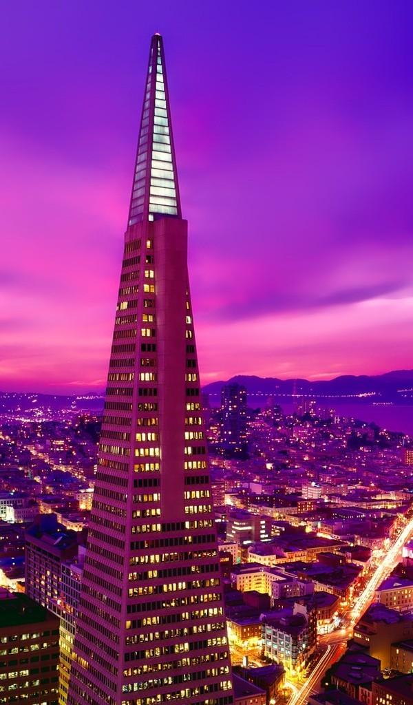 绚丽多彩城市夜景图片壁纸