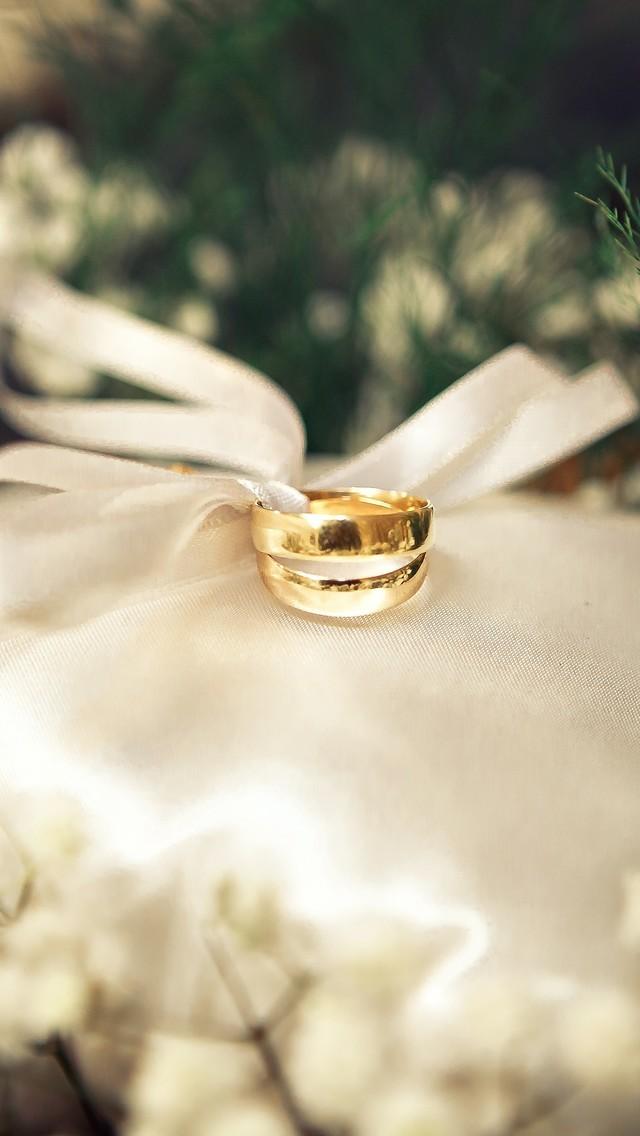 爱情戒指图片唯美壁纸2