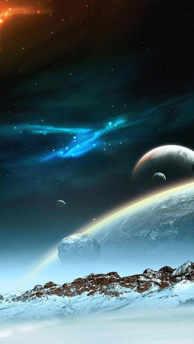 科幻风格星球图片壁纸2