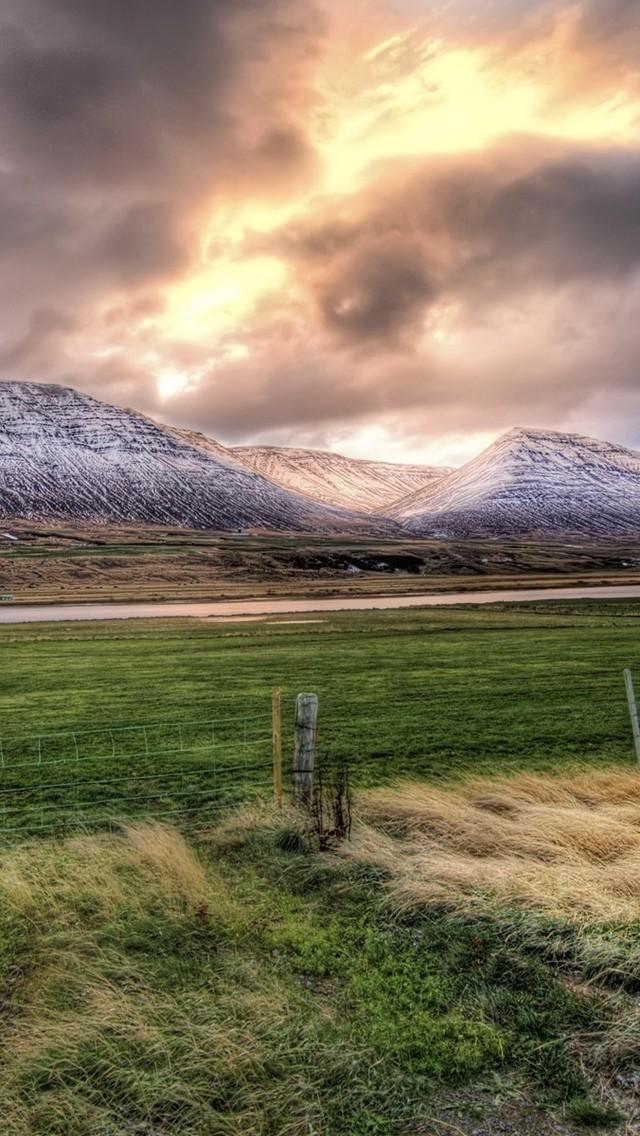 HDR 冰岛风光壁纸2