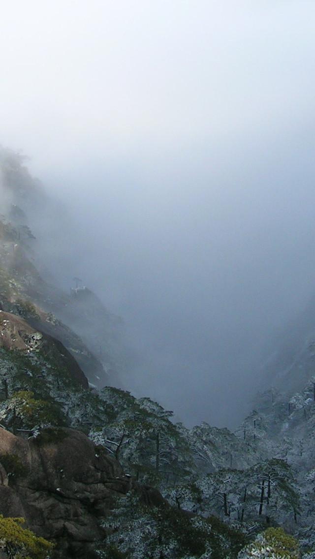 黄山险峰高清壁纸