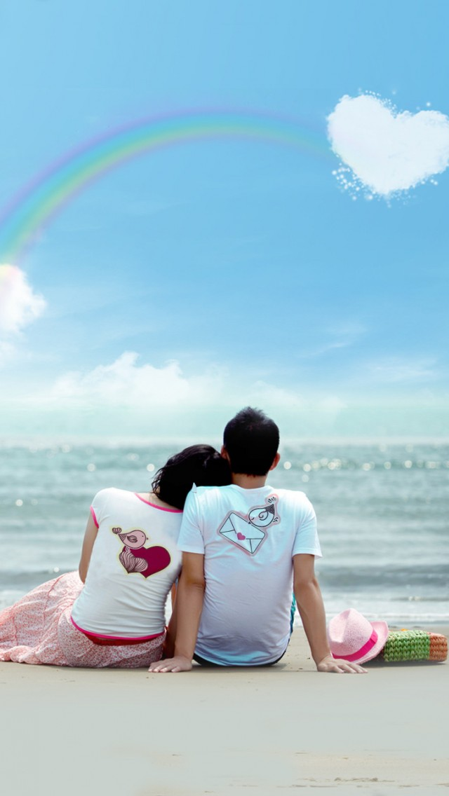 iPhone5唯美爱情手机壁纸
