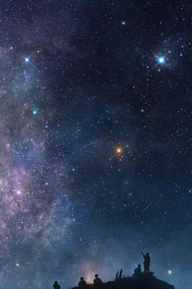 绝美星空摄影手机壁纸