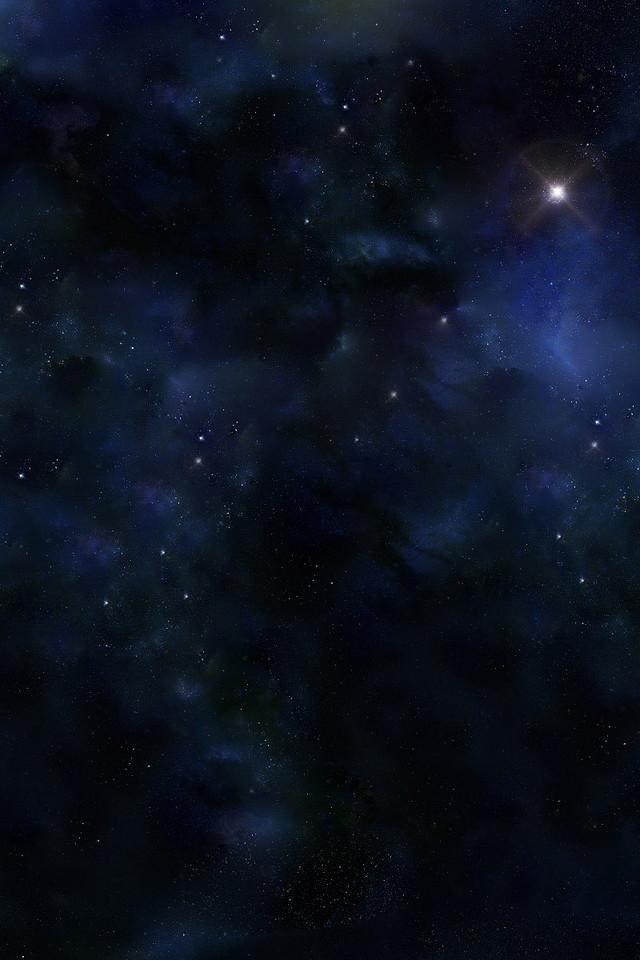 浩渺星空竖图壁纸