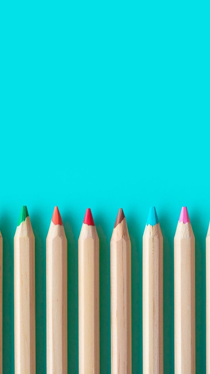 精美彩色铅笔创意图片壁纸