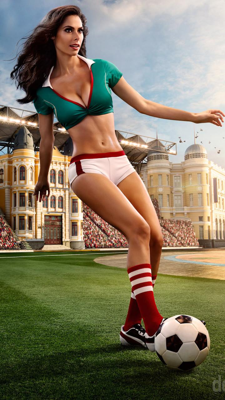 世界杯美女精美壁纸
