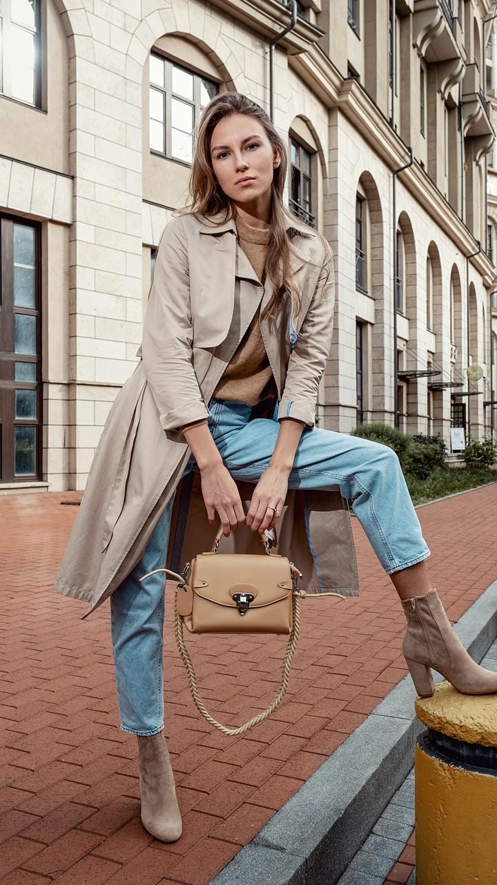 包包和美女高清图片壁纸