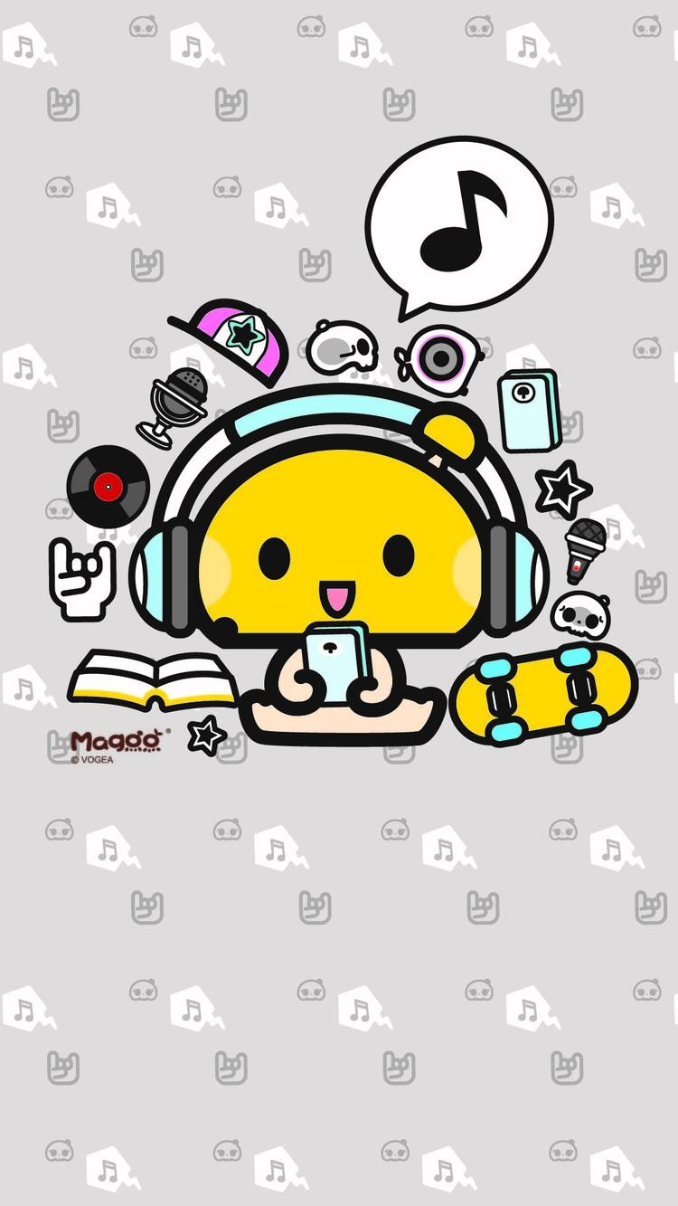 苹果越狱兔_好看的750x1334卡通手机壁纸-中关村在线手机壁纸