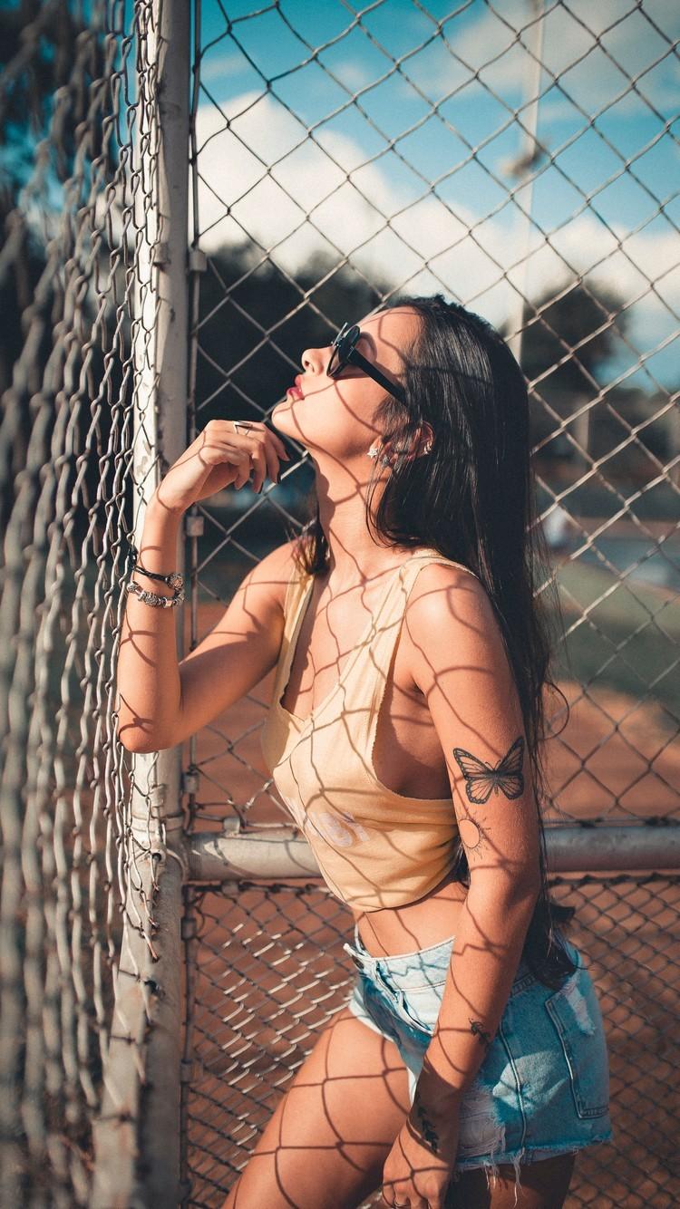 性感氧气运动美女写真图片壁纸