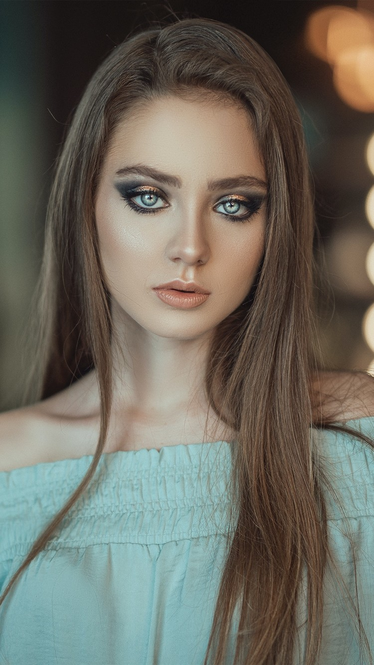 欧美才貌双全美女模特图片壁纸
