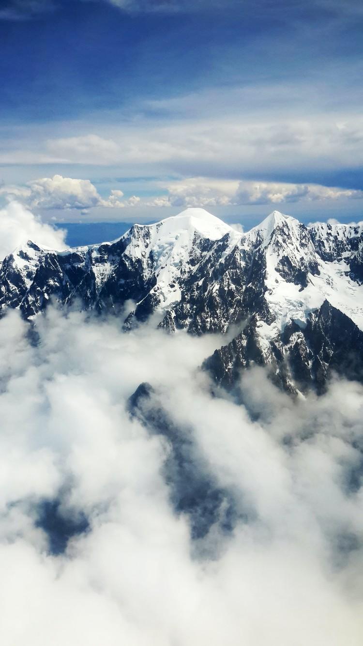 高山云海唯美自然风光图片壁纸2