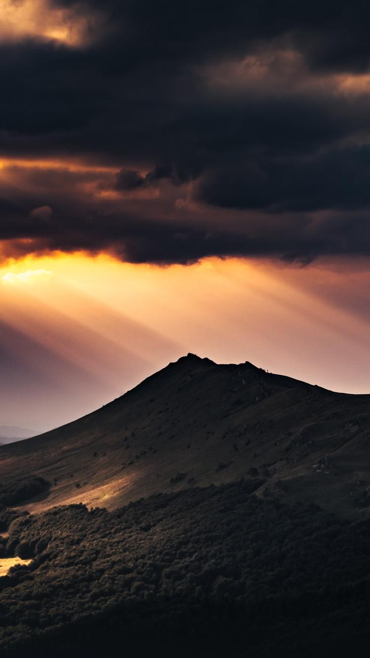高山云海唯美自然风光图片壁纸