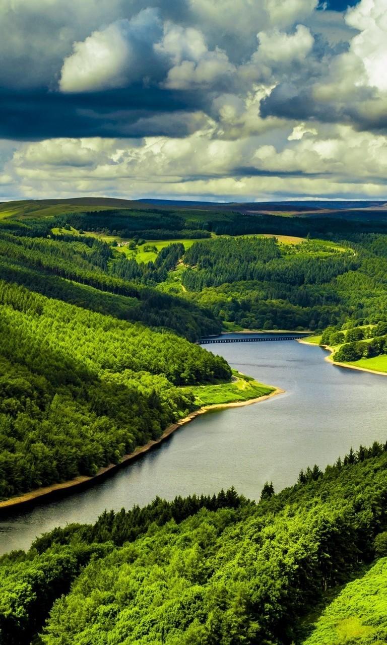 令人震撼的绿色自然风景图片壁纸