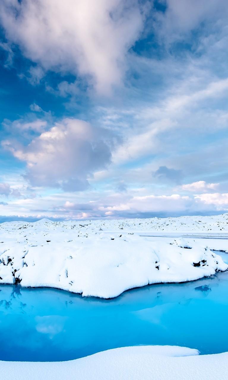 美丽的冬季风光雪景壁纸2