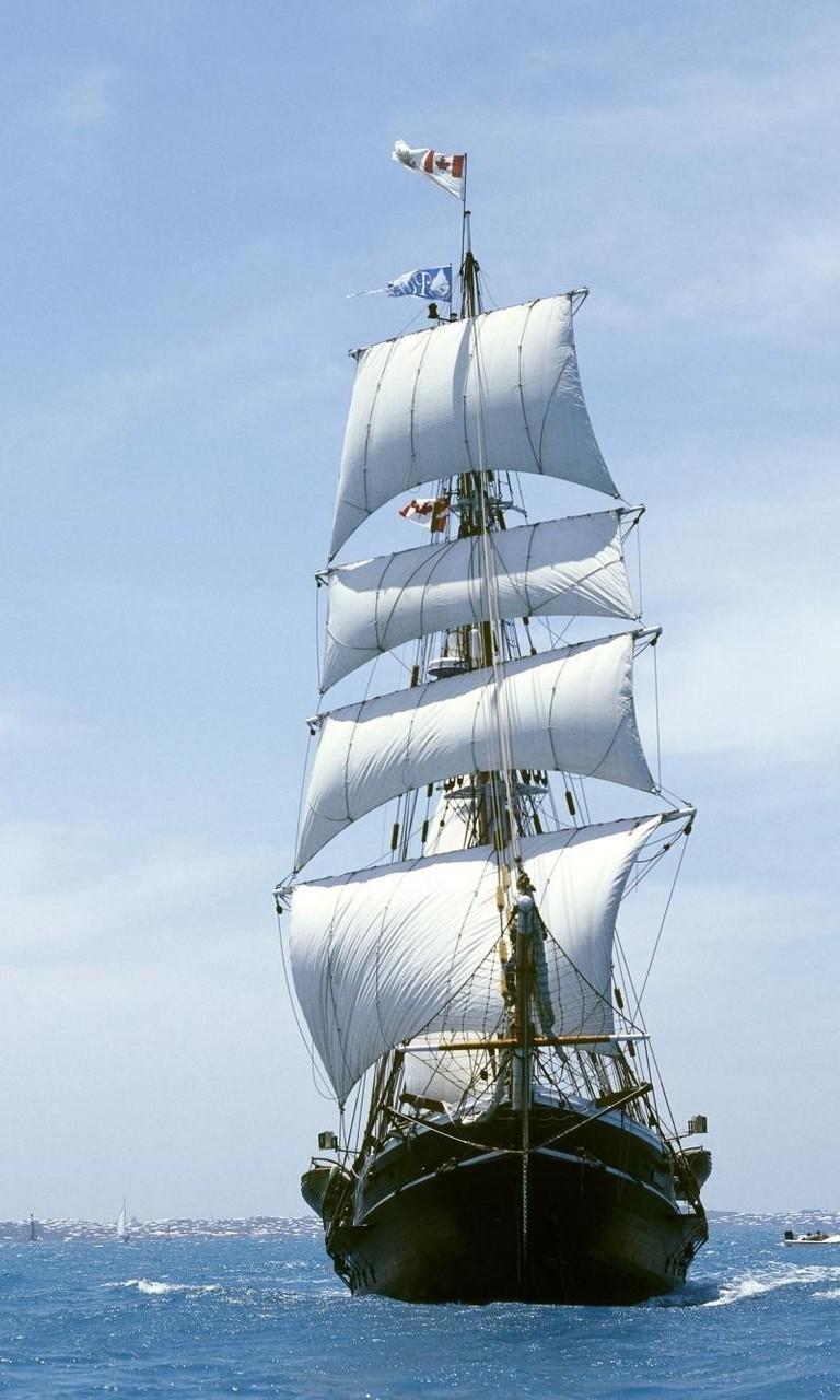帆船与大海的图片大全