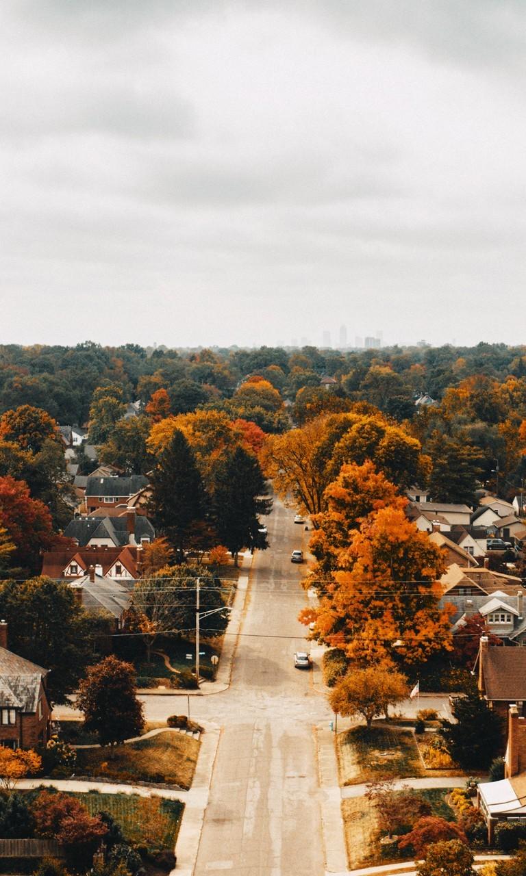 唯美深秋美景摄影高清图片壁纸