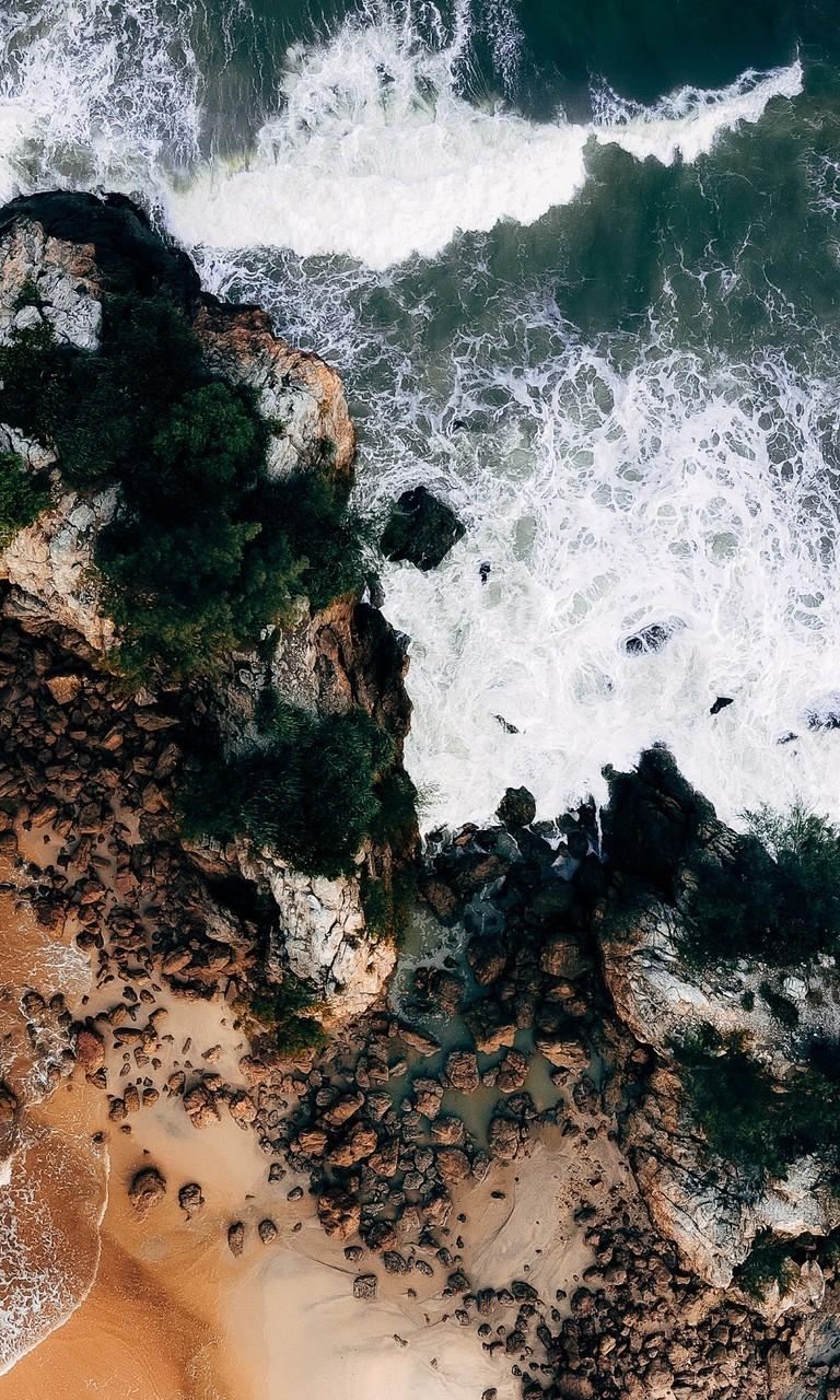 海边沙滩图片高清壁纸2