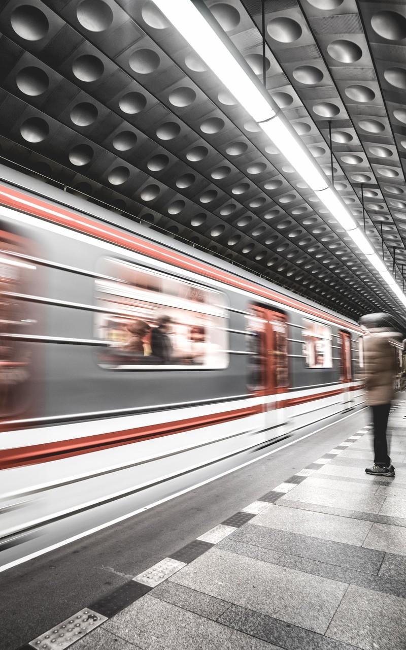 城市交通站内部高清图片壁纸