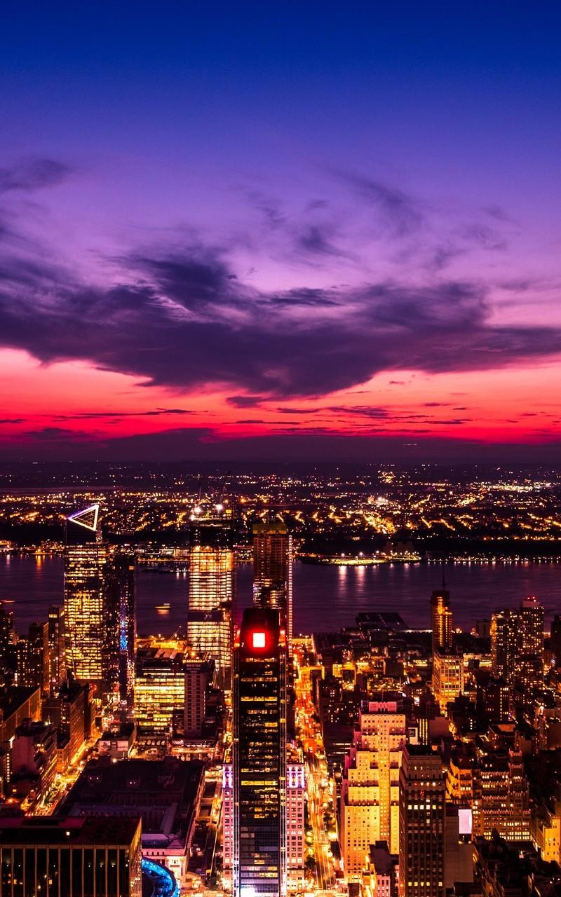 城市夜景高清唯美图片桌面壁纸2