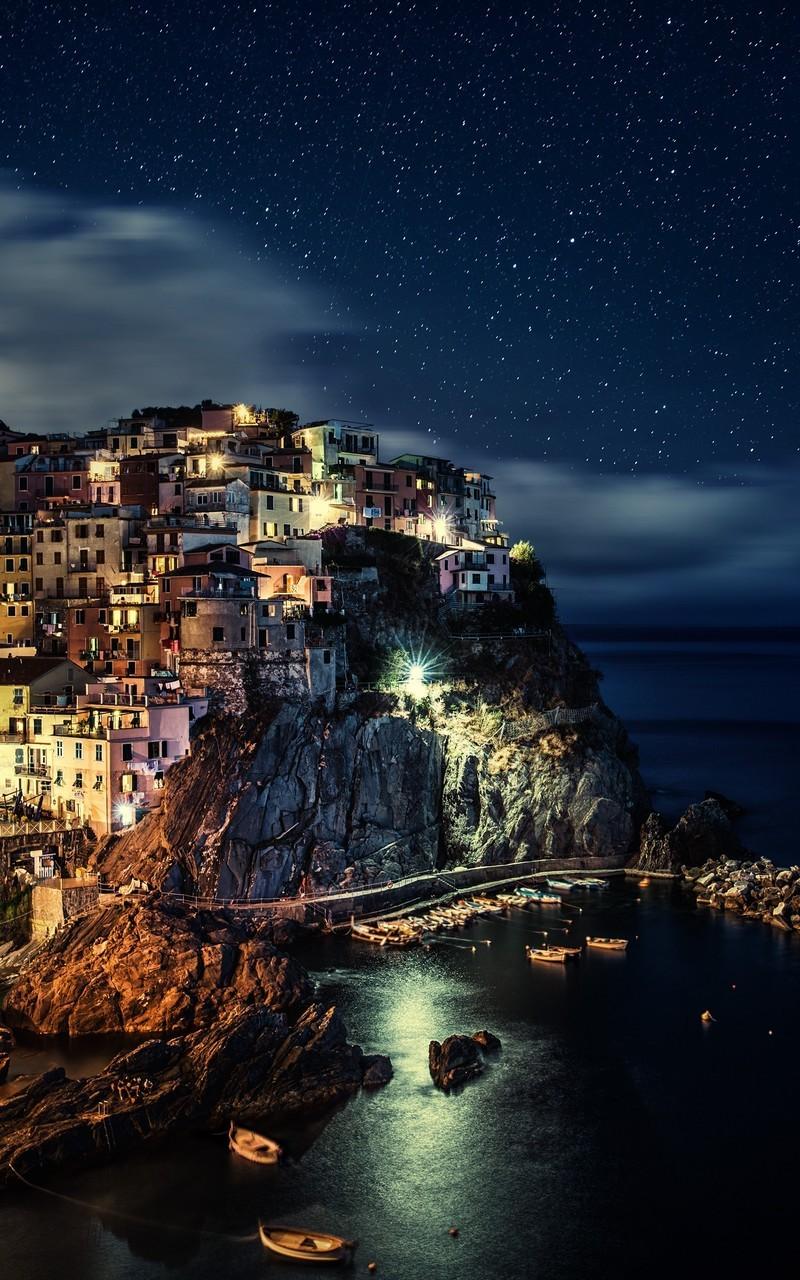 海边城市唯美图片壁纸