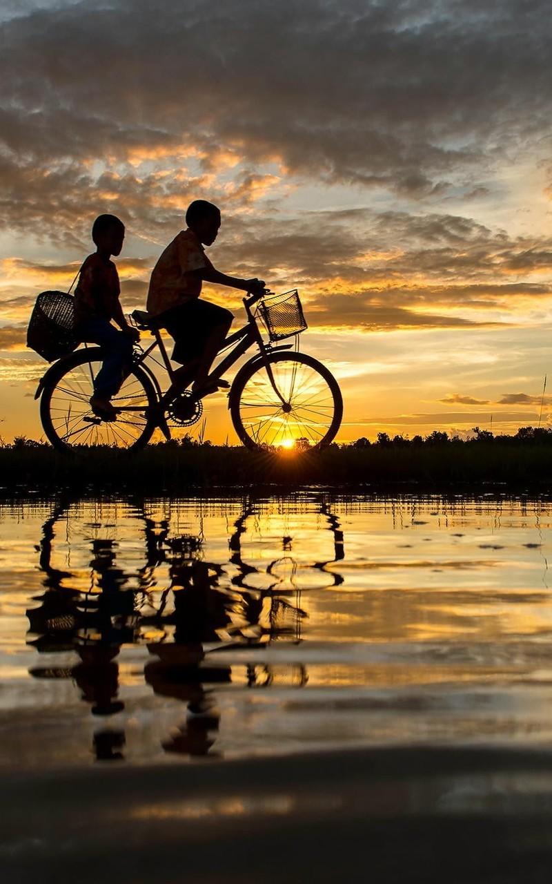 自行车图片休闲生活壁纸2
